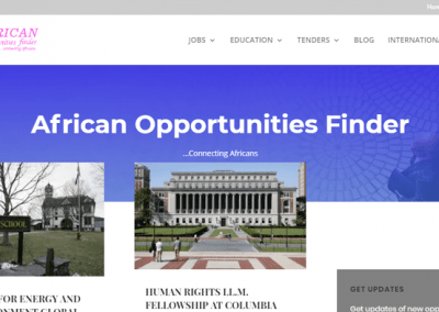 African Opportunities Finder