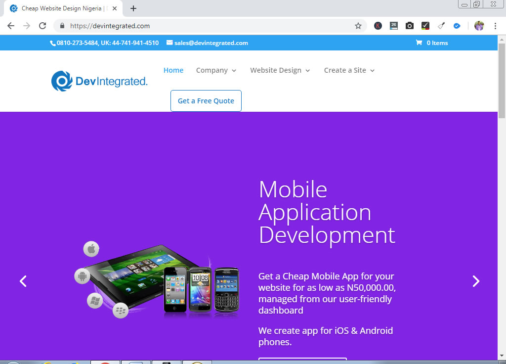 Devintegrated Limited – Best Mobile App Developers in Nigeria